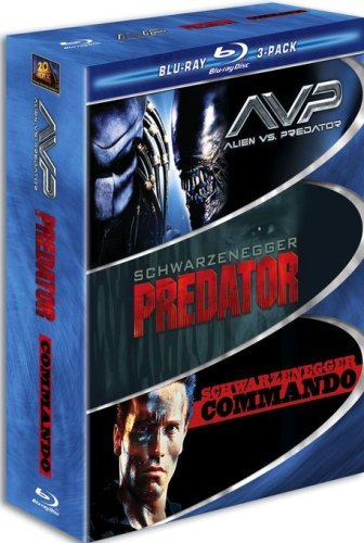AVP Alien vs. Predator / Predator / Commando (Three-Pack) [Blu-ray]