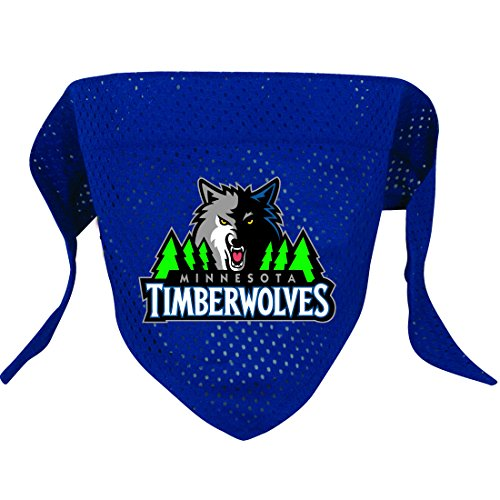Hunter MFG Minnesota Timberwolves Mesh Dog Bandana, Large