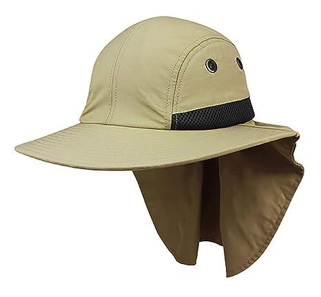 Amazon.com  4 Panel Large Bill Flap Hat W15S48B (One Size Fits Most ... 9f5c0951f417