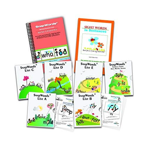 (306 SnapWords Teaching Cards)