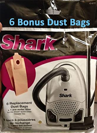 amazoncom new shark plus euro pro super lightweight quick clean canister vacuum 5 stage filteration bonus 6 replacement dust paper bag u0026 1 premotor