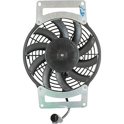 DB Electrical RFM0027 New Radiator Cooling Fan Motor For Kawasaki Kvf750 Brute Force Atv 2012 2013 2014 12 13 14 70-1016 59502-0554 463751: Automotive