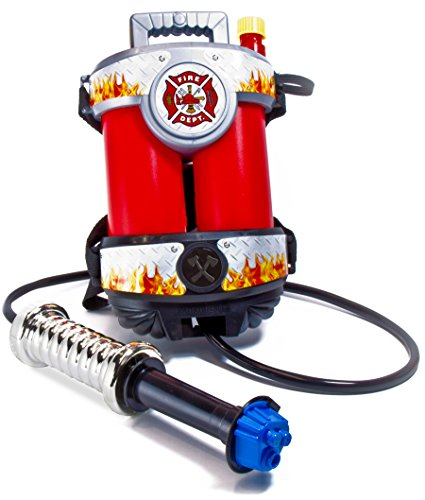 51gLldLLEdL - Aeromax Fire Power Super Fire Hose with Backpack