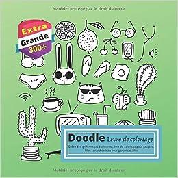 Amazon Com Doodle Livre De Coloriage Créez Des