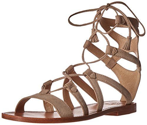 FRYE Women Ruth Short Gladiator Sandal Grey