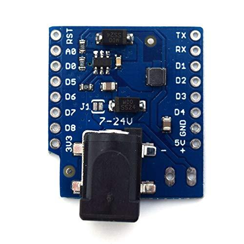 BODYA D1ミニIOT ESP8266ノード MCU USD Arduino用ブザーモジュールスマートエレクトロニクス用ブザーシールド DC電源シールド