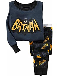 Batman Gotham City Superhero Boys Size 5T Cotton Pajama Set