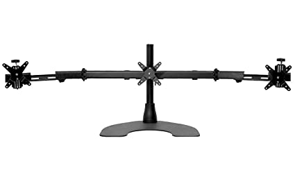 Amazon Com Ergotech Triple Lcd Monitor Desk Mount Stand With