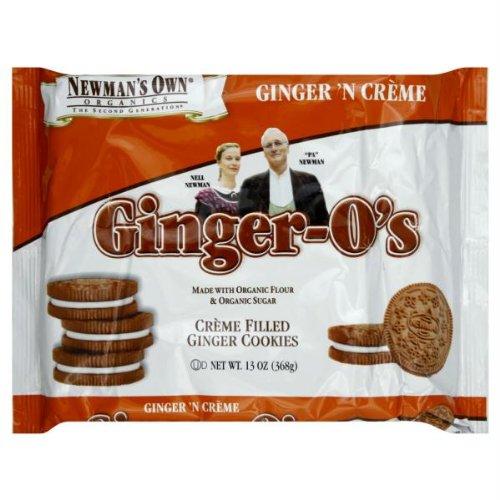 Newman's Own Organics Ginger Newman-O's, 13 oz