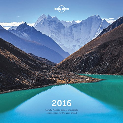 Lonely Planet Wall Calendar 2016 Lonely Planet