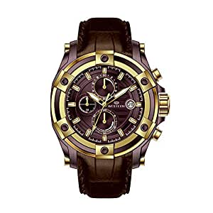 Western Watches Dallas Series Men's Leather Band Watch - W8799GRG010Q, Purple