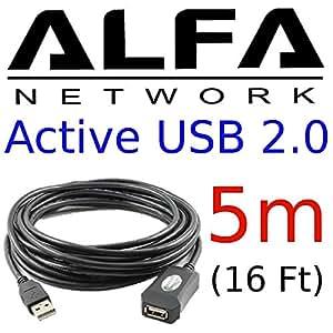 Alfa Network AUSBC-5M - Cable de extensión USB, 5 m