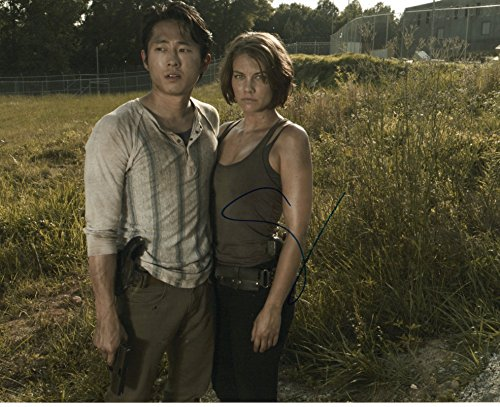 Steven Yeun autographed 8×10 photograph Glenn Rhee The Walking Dead
