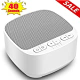 Magicteam Sleep Sound White Noise Machine with 40 Soothing Sounds and Memory Function
