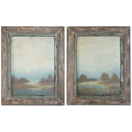 Uttermost 51076 Morning Vistas Framed Art (Set of 2)