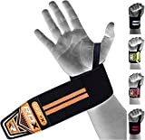 Cheap RDX Gym Straps Weight Lifting Wraps Wrist Support Crossfit Bands Bodybuilding Power Training Workout Exercise