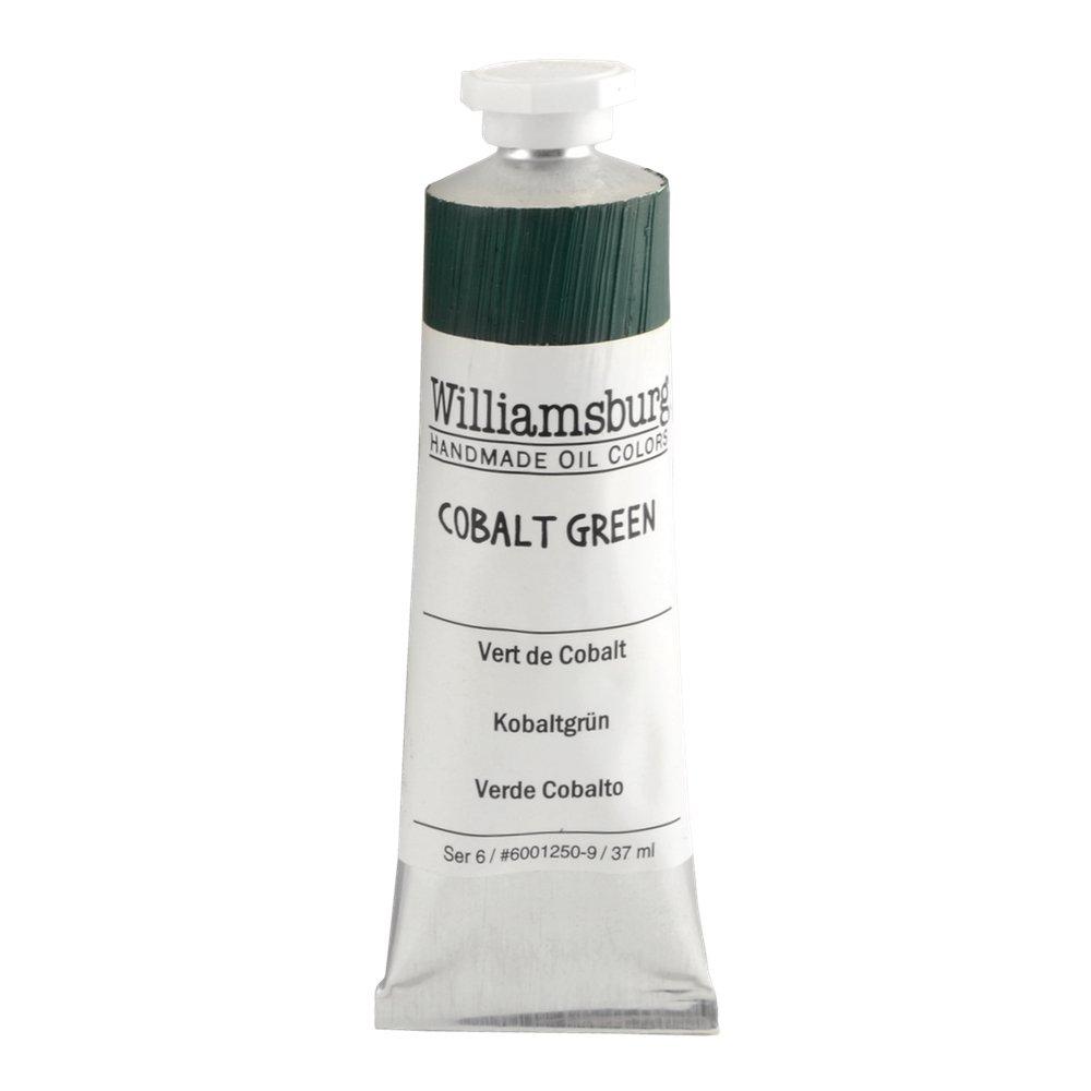 Williamsburg  油絵の具 37 Ml Tube WB60012509 B0085LZY52 37 Ml Tube|Cobalt Green Cobalt Green 37 Ml Tube
