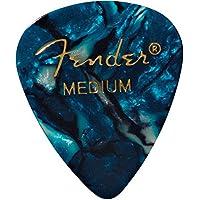 Fender 351 Shape Classic Medium Celluloid Picks, 12 Pack,...