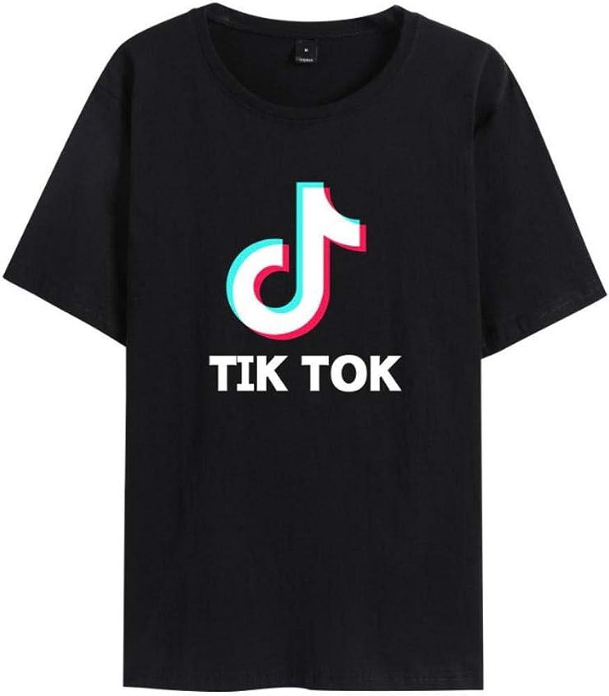 LVABC TIK Tok Camiseta Adultos y Niños Tallas Música: Amazon.es: Ropa y accesorios
