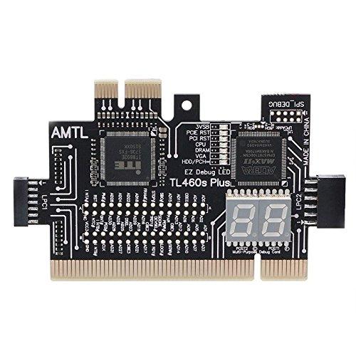 FidgetGear Analyzer Diagnostic LPC-DEBUG Card PCI PCI-E LPC-Debug Post Test Kit Motherboard