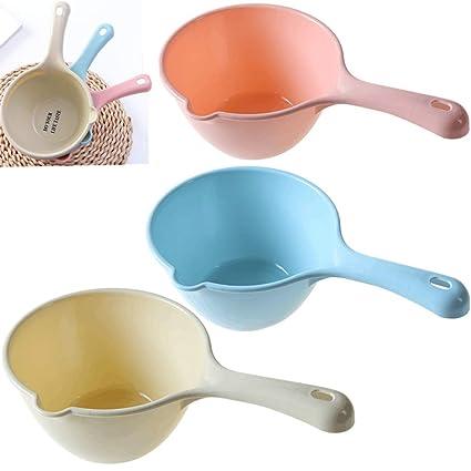 Amazon Com 3pcs Plastic Bathing Ladle Spoons Kitchen Accessories