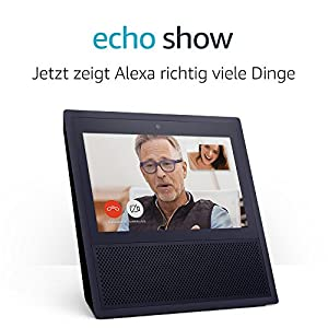 Echo Show - schwarz
