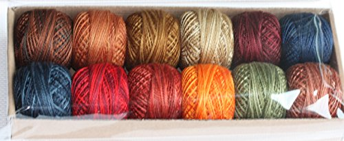 Valdani Perle Cotton 8 - All Seasons by Prairie Moon Primitives- Designer Ginger Jackson