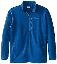 Columbia Men's Big & Tall Cascades Explorer Full Zip Midweight Fleece Jacket