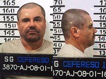 Amazon.com: EL CHAPO GUZMAN MUGSHOT GLOSSY POSTER PICTURE ...
