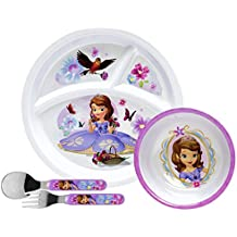 Disney Toddler Dishes Dinnerware (Princess Sofia Dinnerware Set)