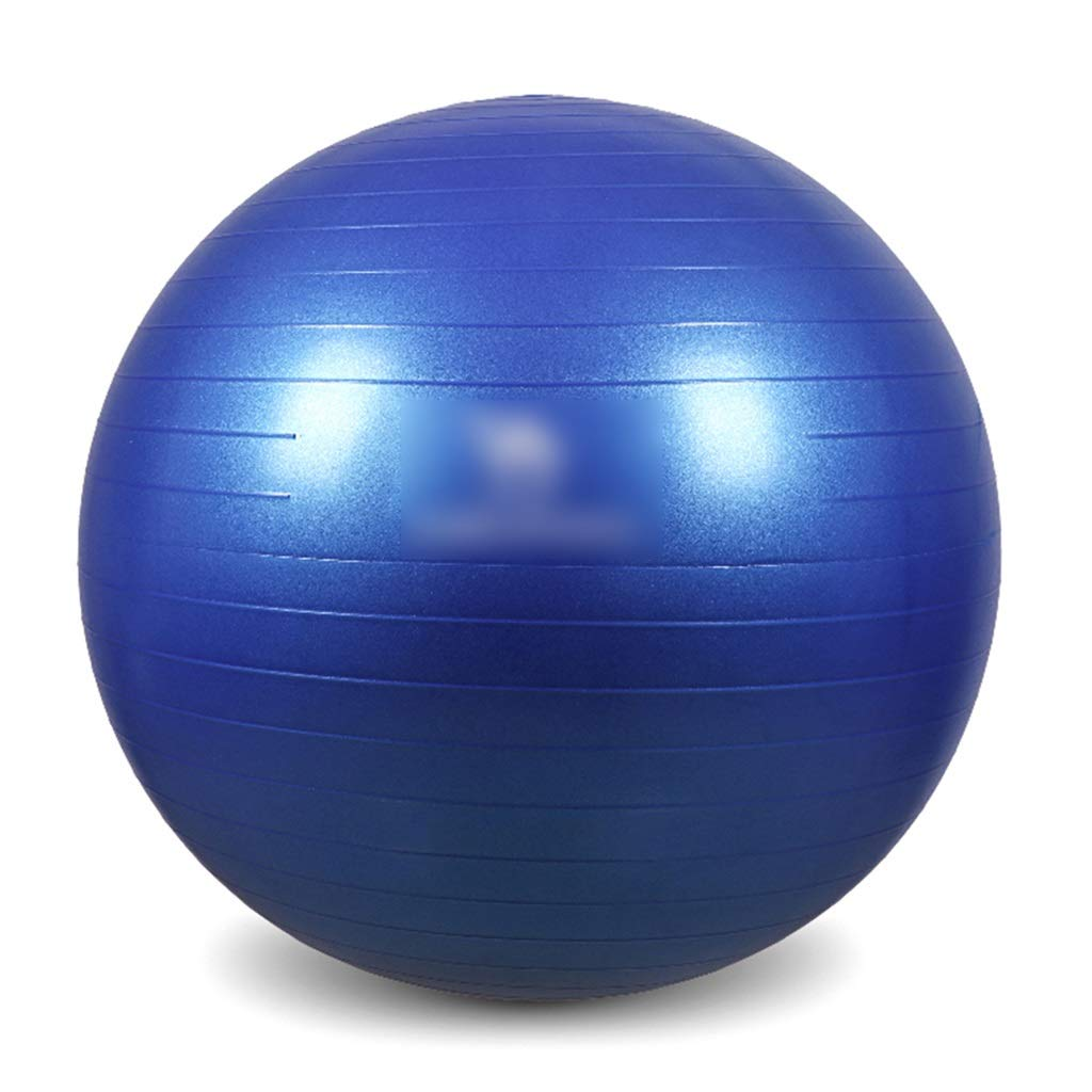 Sports Fitness Sports Yoga Ball Weight Loss Bodybuilding Slimming Balance Bouncy Ball Thickening Explosion-Proof Ball Indoor Fitness Ball Portable (Load: 500kg) Exercise Ball Chairs