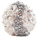 Jackcsale-Romantic-Wedding-Bride-Holding-Bouquet-Roses-with-Diamond-Pearl-Ribbon-Valentines-Day-Bouquet-Confession-D445-cream