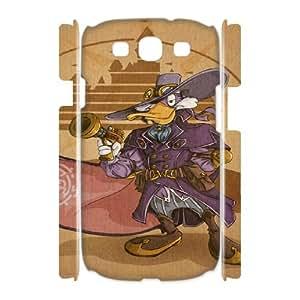 Samsung Galaxy S3 I9300(3D) Darkwing Duck pattern design Phone Case