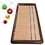 HealthyLine Infrared Heating Mat (Soft & Flexible)|TAJ, Natural Amethyst, Jade & Tourmaline Ceramic, (Full-Body) 72″ x 24″ |Relieve Pain, Sore Muscles, Arthritis and Injury Recovery |​​US FDA