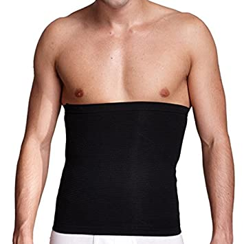 6aec162dbd36c Tinksky Mens Inner Muscle Belt Slimming Belt Beer Belly Tummy Control Body  Shaper Belt Abdomen Shaper (M)  Amazon.co.uk  Sports   Outdoors