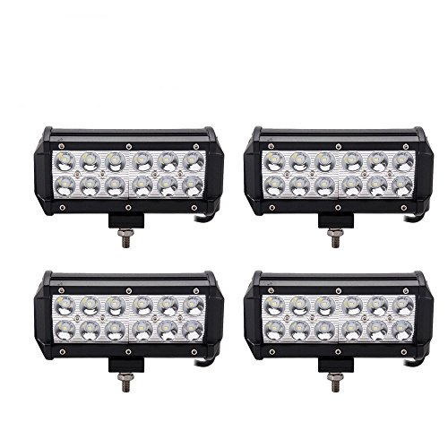 Led Light Pod,7Inch Spot Off road Driving Led Light Bar,Waterproof for Jeep Van Camper Wagon ATV AWD SUV 4WD 4x4 Pickup Trucks, 36W, Pack of 4