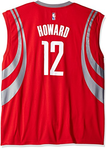 NBA Men's Houston Rockets Dwight Howard Replica Player Road Jersey, Large, Red
