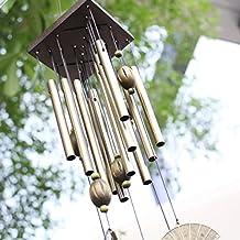 Wind Chime Garden Noisemaker Home Decoration Windchime Bells Folding Fan