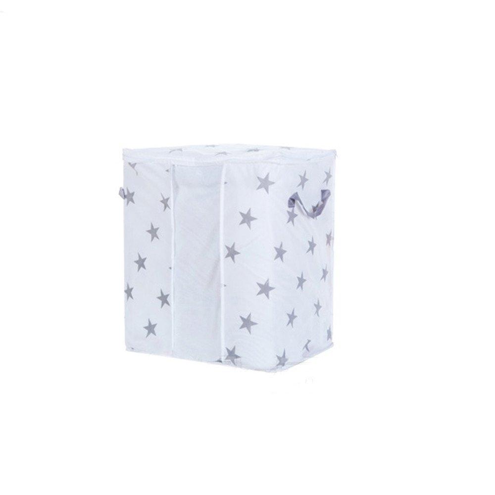 Ecosin Practical Hot Sale Foldable Storage Bag Clothes Blanket Quilt Closet Sweater Container Organizer Box Pouche (B)