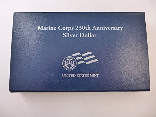 2005 P Commemorative Marine Corps Unc. Silver Dollar $1 Mint State US Mint - Unc Silver Coin