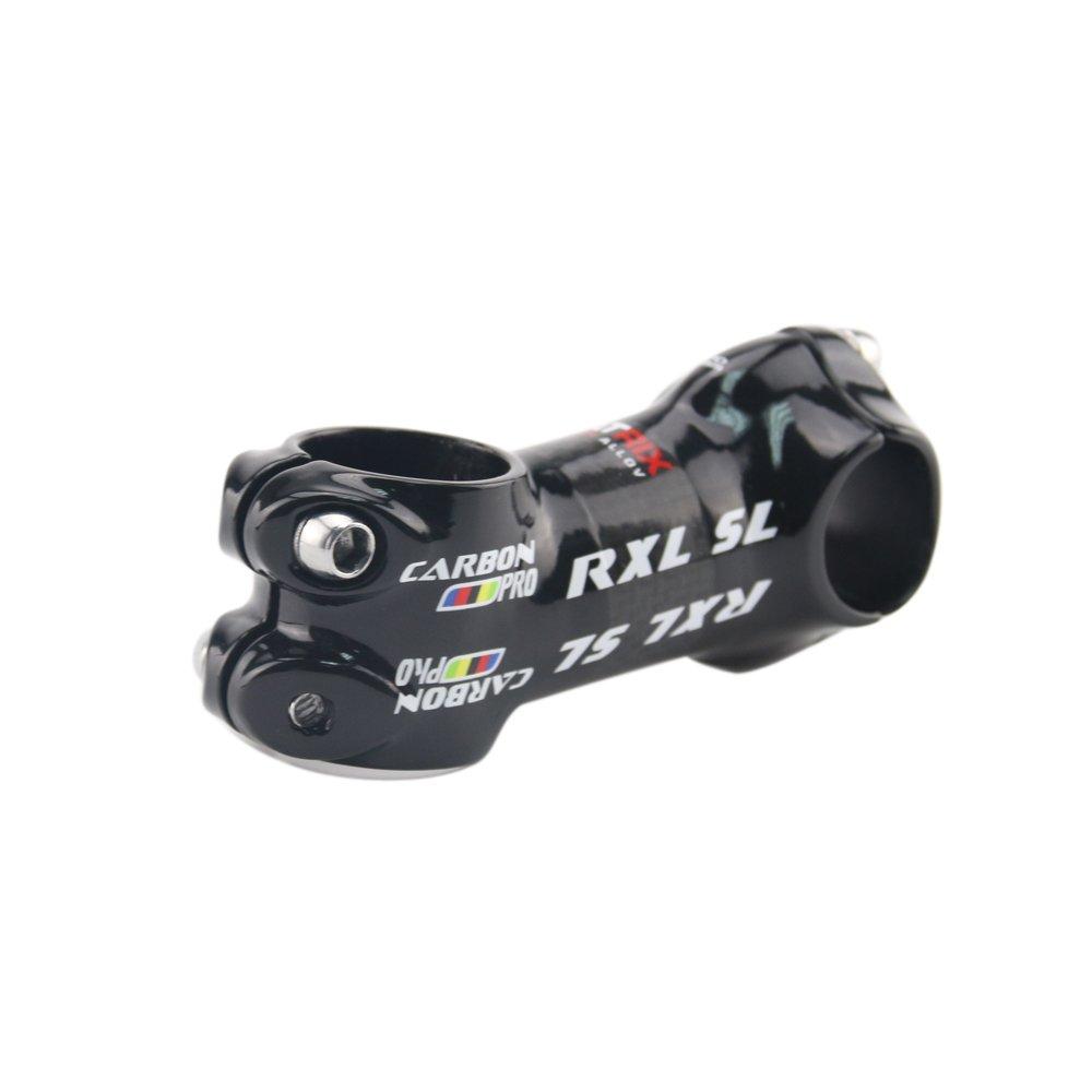 RXL SL Paquete Tallo de Carbono V/ástago de Bicicleta de Carretera MTB de la Bicicleta Parte de Bicicleta 3K Lustroso 25.4 SL2202 80mm