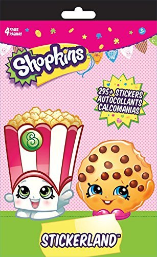 Shopkins Reward Stickers 295 ct