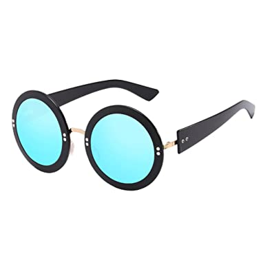 Zhhlaixing Mode Fashion Womens Mens Sunglasses Bright and Reflective Personality Sunglasses for Unisex EU1g84z