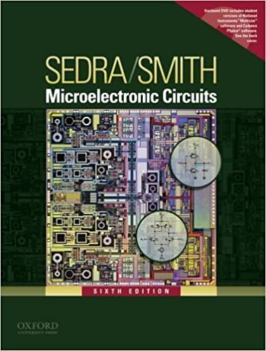 Microelectronic Circuits By Sedra Adel S Smith Kenneth C Oxford University Press 2009 Hardcover 6th Edition J K Amazon Com Books