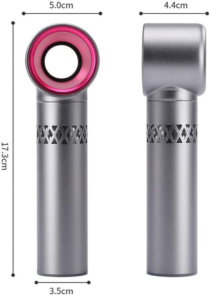 Caricatore Portatile USB Mini Ventilatore Portatile Cooler Estivo per Ufficio di Viaggi all\'aperto Raffreddamento ad Aria Ventilatore Piccolo Nessuna Foglia Pratico Ventilatore-B A