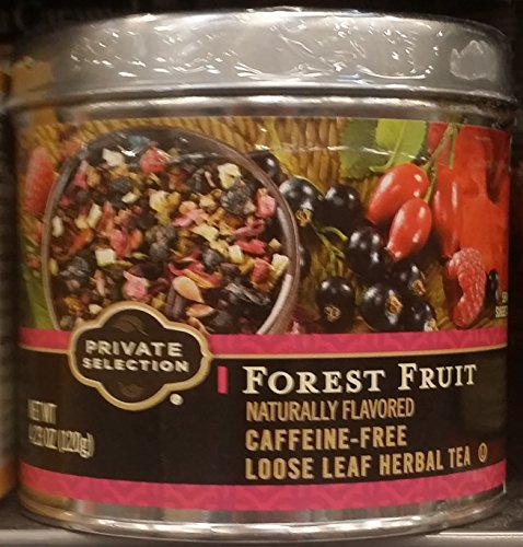- Private Selection Forest Fruit Caffeine-Free Loose Leaf Tea 3.88 oz (Pack of 3)