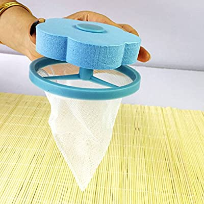 Hair Removal Catcher Filter Mesh Pouch Cleaning Ball Bag Dirty Fiber Collector