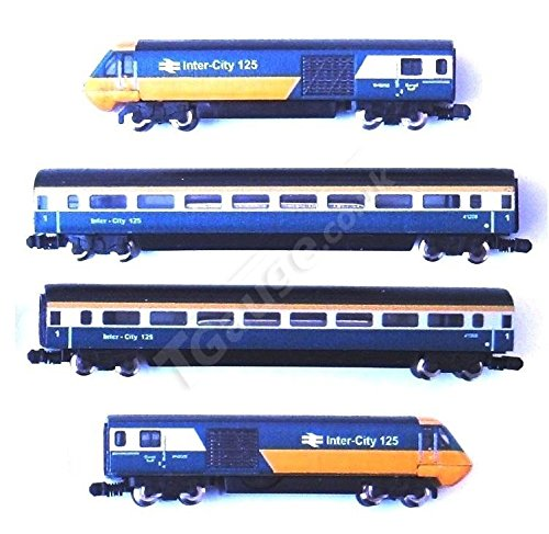1:450 Scale BR Inter-City 125, 4 Car Set (Intercity Train)