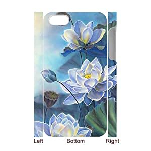 Lotus 3D-Printed ZLB820455 Personalized 3D Phone Case for Iphone 4,4S
