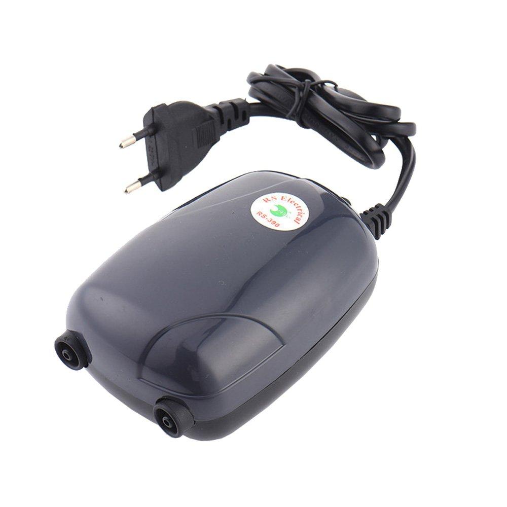 LONDAFISH Aquarium Oxygen Air Pump Quiet Air Pump for Fish Tank with Accessories 3W/5W (5W)